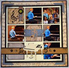 Piano Recital - Scrapbook.com
