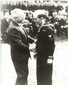 Valor award for PhM2c George Edward Wahlen (1924-2009) USN. Medal of Honor for conspicuous gallantry and intrepidity at the risk of his life above and beyond the call of duty....during action against enemy Japanese forces on Iwo Jima in the Volcano group on 3 March 1945. His heroic spirit of self-sacrifice in the face of overwhelming enemy fire upheld the highest traditions of U.S. Naval Service. George Wahlen later joined the US Army, served in Korea and Vietnam and retired as a major. Navy Corpsman, Branch Of Service, George Edwards, Medal Of Honor Recipients, Iwo Jima, All Hero, Above And Beyond, Call Of Duty, Us Army