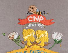 "Check out new work on my @Behance portfolio: ""illustration with stitch work for a skincare brand CNP"" http://be.net/gallery/49349045/illustration-with-stitch-work-for-a-skincare-brand-CNP"