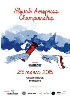 Prvé infomácie o Slovak Aeropress Championship 2015 sú vonku! Rad Coffee, Coffee Desk, Aeropress Coffee, Bratislava, Barista, Posters, World, Champs, Events
