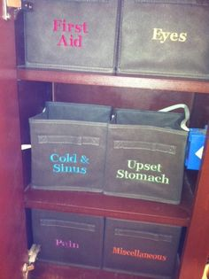 I need to embroider some Thirty-One Gifts totes and . I need to embroider some Thirty-One Gifts totes and - Medicine Cabinet Organization, Bathroom Organization, Storage Organization, Organization Ideas, Storage Ideas, Organize Medicine, Medicine Cabinets, Storage Solutions, Be Organized