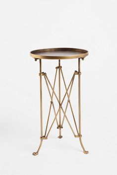 Metal Accordion Side Table - Urban Outfitters $79 on sale, regularly $89