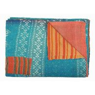 Fab.com | Handstitched Sari Cotton Quilt