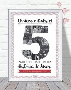 Aniversário de Namoro - Uma ótima opção para comemorar todo o tempo junto com o seu amor! Um quadro com as fotos dos melhores momentos vividos a dois. Poster Layout, Photo Story, Love Gifts, Marry Me, Boyfriend Gifts, Homemade Gifts, Photo Book, Anniversary Gifts, Diy And Crafts