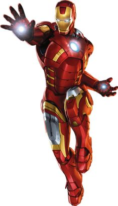 Does Iron Man's six pack stop at the man inside the suit... Nope, his suit also has a six pack built into it.