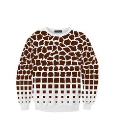 Giraffes and sweaters, my two favorite things together!
