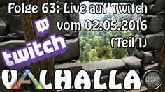 ARK SURVIVAL EVOLVED - VALHALLA Folge 63: Live auf Twitch (1)