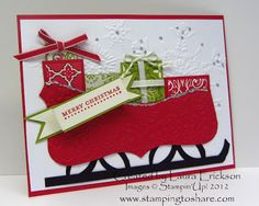 Stamping to Share: card by Laura Erickson
