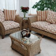 Conservatory Cane Furniture Roma 2 Piece Suite £1,020.00 www.candleandblue.co.uk