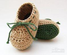 Cheap Boy Shoes - Cute Crochet Baby Boy Shoes Infant Boots 0 12m ...♡ ༺✿ƬⱤღ  http://www.pinterest.com/teretegui/✿༻