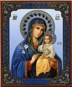 ~Most Blessed Virgin Mary, Mother of Christ and Mother of the Church.