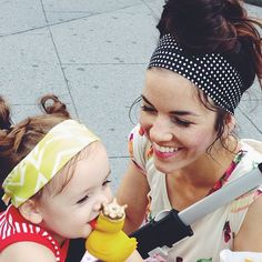 Today is a mother daughter headband kind of day.