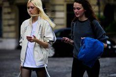 Tyg Davison + Allie Barrett | Paris via Le 21ème
