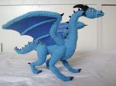 Crochet Dragon Luind 1 by xXShilowXx