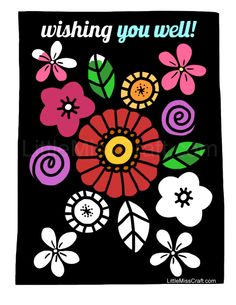 stunningly beautiful flowers against a chalkboard background just print and color at http