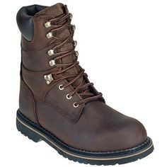 McRae Boots Men's Ruff Rider 8 Inch Welted Work Boots MR88144