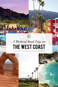 5 Weekend Road Trips on the West Coast #theeverygirl                                                                                                                                                                                 More
