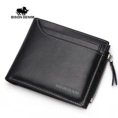 Cheap billfold wallet, Buy Quality purse directly from China purse case Suppliers: BISON DENIM 2016 Functional Men Wallets Genuine Leather Bifold Wallet Card Holder Coin Purse Pockets Zipper Wallets Billfold Wallet, Card Wallet, Purse Wallet, Wallet With Coin Pocket, Slim Wallet, Men Wallet, Leather Wallet Pattern, Leather Bifold Wallet, Leather Clutch