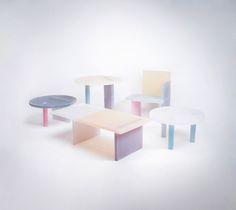 Wonmin Park translucent furnitures