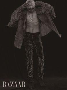Junsu is an homme fatale in 'Harper's Bazaar' | allkpop.com