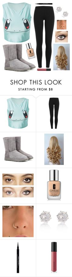 """Squirtle Squad"" by theatre1215 ❤ liked on Polyvore featuring Polo Ralph Lauren, UGG Australia, Charlotte Tilbury, Clinique, River Island, Givenchy and Bare Escentuals"