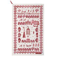 Christmas Town Tea Towel - Emma Bridgewater via daisypark uk