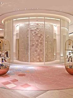 Dubai Mall Esagoni Giles Miller(tailor-made ceramic wall)