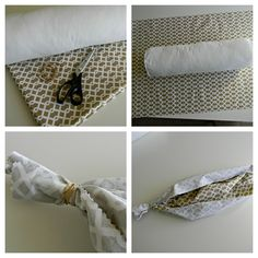 Diy Bolster Pillow No Sew: Craft Projects   Selvedge  How to make a bolster cushion   Sew    ,