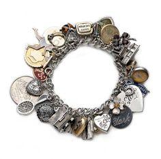 M&B vintage charm bracelet, average bracelet $200 (for four charms) at Space 519