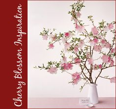 Cherry Blossom Inspiration, Branches, Pink, Dessert, Party, Decor, Decorations 5