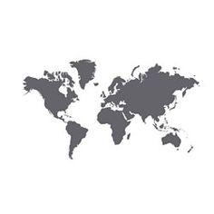 IKEA - KLÄTTA, Aufkleber, Die Weltkarte ist ein dekorativer Wandschmuck und…
