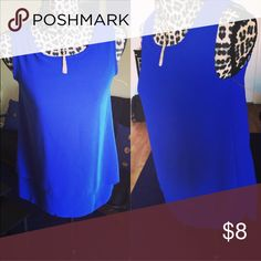 🎉🎊 royal blue blouse 🎉🎊 🎉🎊 great for work place very elegant looking 🎉🎊 Yichenmel Tops Blouses