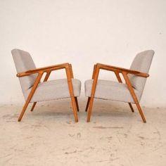 pair of danish elm upholstered retro armchairs vintage 1950s amazing retro office chair