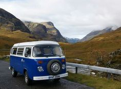Glen Coe, Scotland. On the road home from Skye.