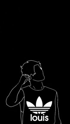 one direction background One Direction Background, One Direction Drawings, One Direction Art, One Direction Wallpaper, Arte Dope, Dope Art, Louis Tomlinsom, Louis And Harry, Black Phone Wallpaper