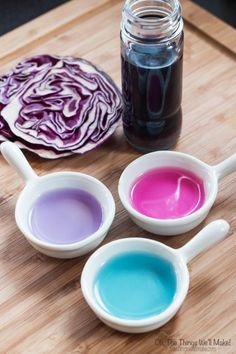 Why buy food coloring when you can make your own? It's easy, makes beautiful colors, and is the coolest type ever, a natural color changing food coloring!