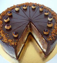 Hungarian Desserts, Hungarian Recipes, No Salt Recipes, Tart Recipes, Confectionery, Cakes And More, No Bake Cake, Cake Designs, Oreo