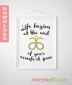 Arbonne Motivational Quote  Life begins at the end of your comfort zone