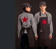 trendy restaurant uniforms - Google Search                                                                                                                                                     Más