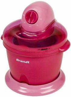 Brandt Sor 15 Sorbetière 1,6 L 50 W Framboise: Amazon.fr: Cuisine & Maison
