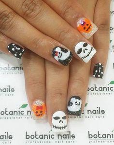 Halloween nail art-53 - 65 Halloween Nail Art Ideas  <3 <3