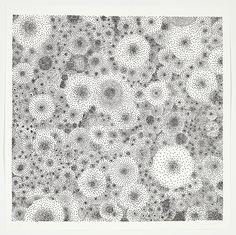Tara Donovan - Drawing (pins), 2011