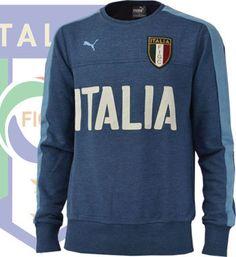 イタリア代表2016 アズーリ クルーネックスウェット(ダークデニム)