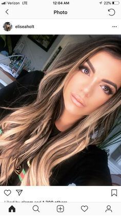 Related posts:Rose hair color with colorful gliterBrown to balayage - cuteSummer and amazing hair Hair Color And Cut, Ombre Hair Color, Hair Color Green Eyes, Long Hair Colors, Brown Blonde Hair, Brunette Hair, From Brunette To Blonde, Medium Blonde Hair Color, Brunette Color