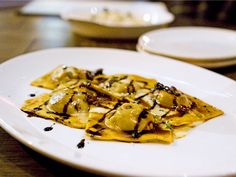 Short rib ravioli at Siena Tavern, Chicago #italian #restaurants