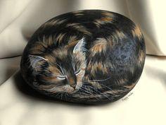 MAYA Happy rocks - peinture sur pierre 23 cm. - 7 kg