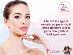 Age is just a number so erase away all those lines that tell you anything other than that. A #Facelift is your passport to youthful skin. #TheNewYou #CosmeticTreatment #CosmeticSurgery