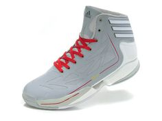 Adidas Adizero Crazy Light 2 White Grey Red