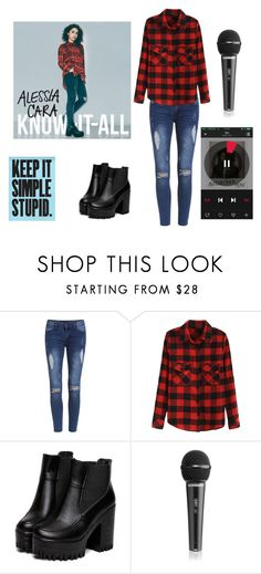 """""""Alessia Cara"""" by maddysleepy ❤ liked on Polyvore"""