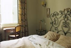 Grand Hotel Nord-Pinus, Camargue, France. Bed